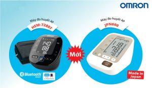 Omron tung sản phẩm mới, máy đo huyết áp bắp tay Omron 7280 và JP600