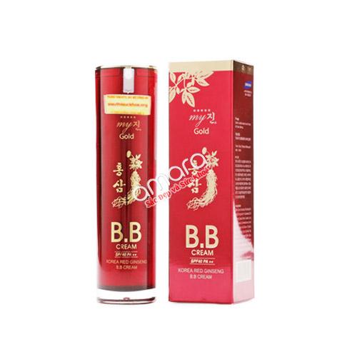 BB cream hồng sâm Hàn Quốc – Che khuyết điểm và làm mịn da