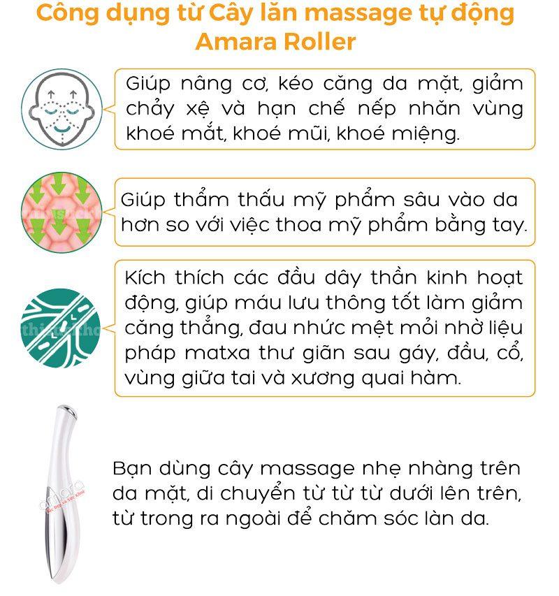 cây lăn massage tự động