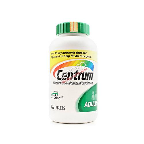 Centrum Adults – Bổ sung vitamin và khoáng chất từ 18-50 tuổi