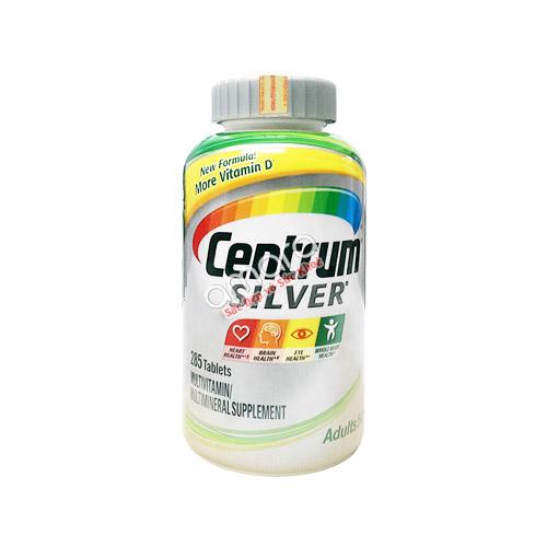 Centrum Silver Adults – Bổ sung vitamin và khoáng chất trên 50 tuổi (nam và nữ)