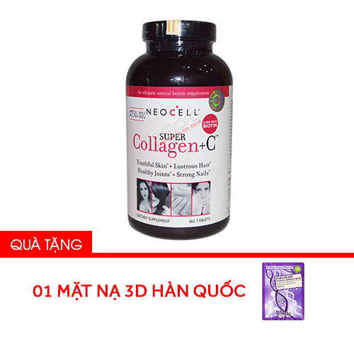 Collagen Neocell type 1&3 + C 360 viên