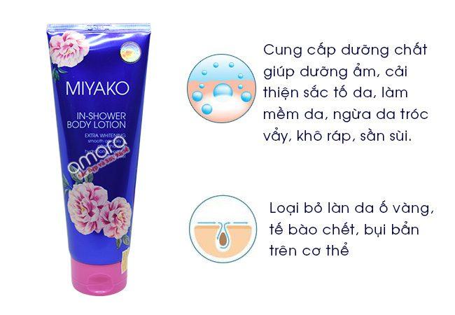 sữa dưỡng thể body miyako