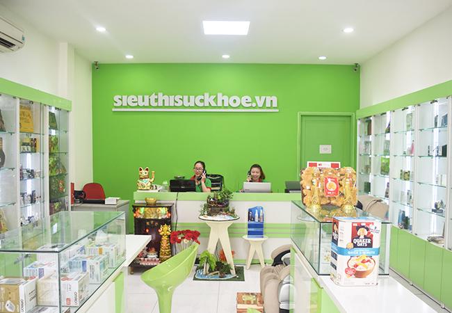 cửa hàng siêu thị sức khỏe
