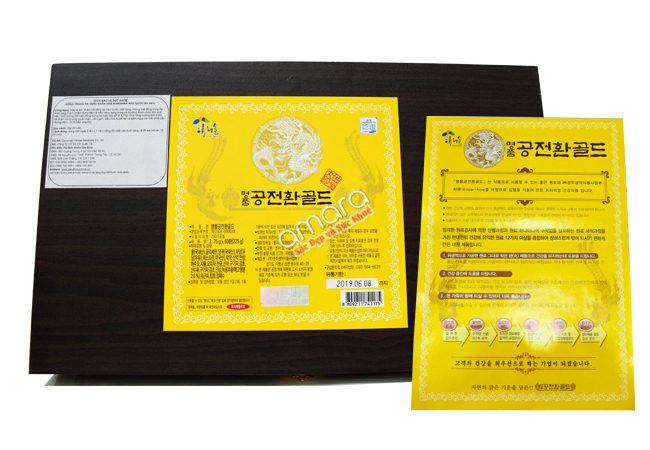 đông trùng hạ thảo kanghwa hộp gỗ