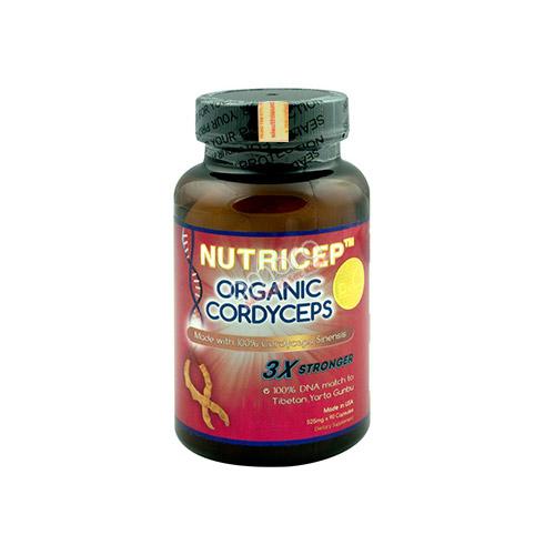 Đông trùng hạ thảo Nutricep Organic Cordyceps 3x chính hãng Kỳ Duyên 100%