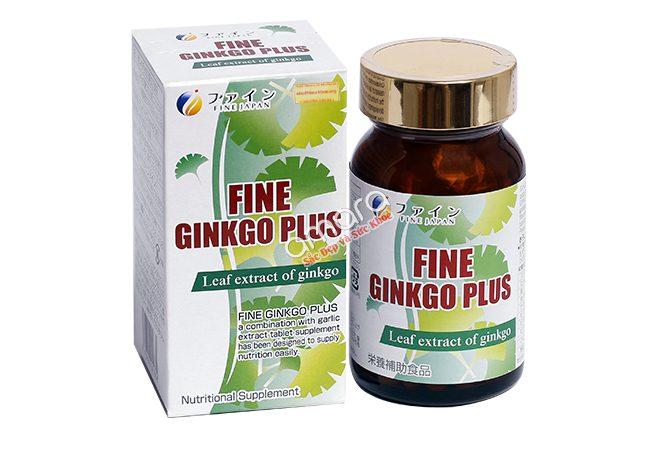 viên uống Fine Ginkgo Plus đẹp da