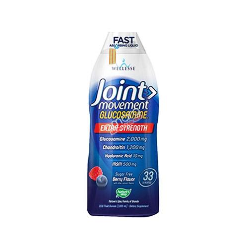Glucosamine dạng nước bổ sung Chondroitin, MSM và Hyaluronic acid dễ dùng, hiệu quả nhanh