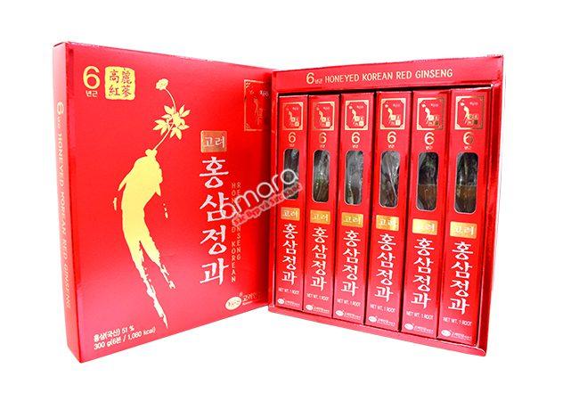 Hồng Sâm Tẩm Mật Ong Hàn Quốc KGS 300g