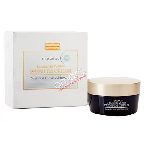 Kem dưỡng trắng da siêu cấp Placenta White Premium đậm đặc, bảo vệ da tối ưu