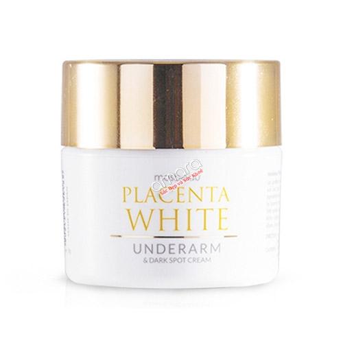 Kem làm trắng da vùng nách, giảm thâm Placenta White Underarm