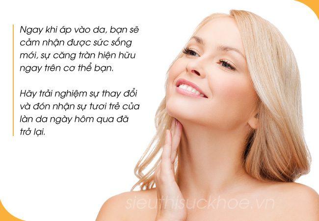 Kem Trắng Da Collagen Body Aqua