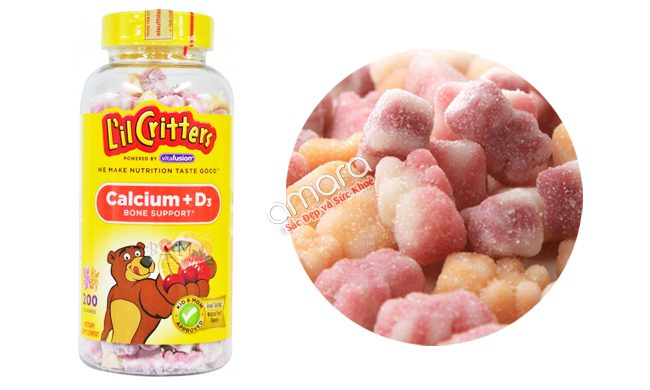 Kẹo Dẻo Gummy Bear cho bé