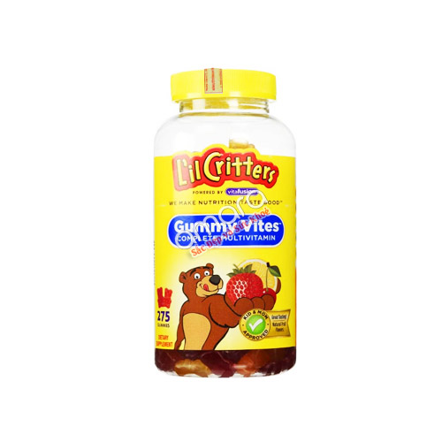 Kẹo Dẻo Gummy Vites Multivitamin 275 viên (mẫu mới 2016)