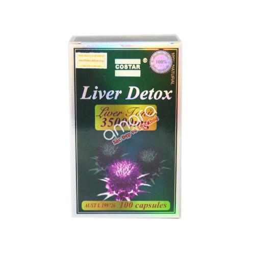 Liver Detox Costar Australia – Giải độc, tăng cường chức năng gan