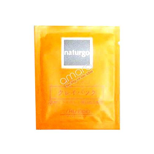 Mặt nạ bùn non Shiseido Naturgo Nhật Bản