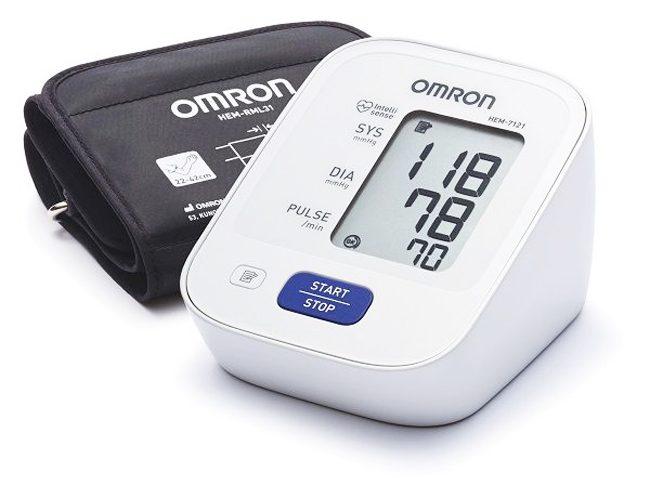 máy đo huyết áp Omron 7121 đo bắp tay tự động