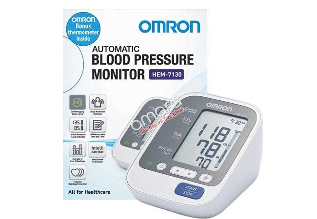 máy đo huyết áp omron 7130 đo bắp tay