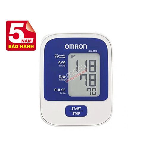 Máy đo huyết áp bắp tay tự động Omron 8712