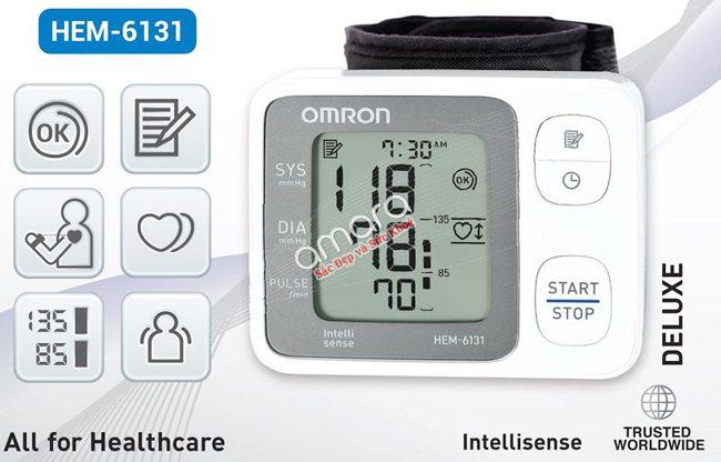 máy đo huyết áp omron 6131