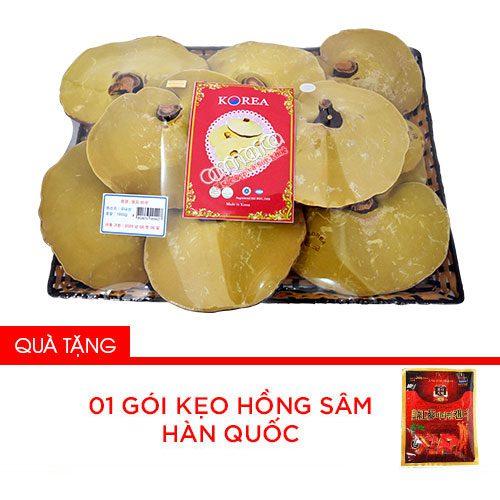 Nấm linh chi vàng thơm Hàn Quốc khay 1kg