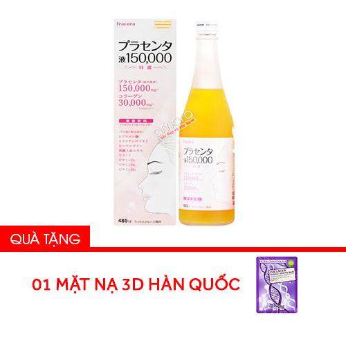 Nước uống nhau thai cừu kết hợp collagen và sữa ong chúa Fracora Placenta