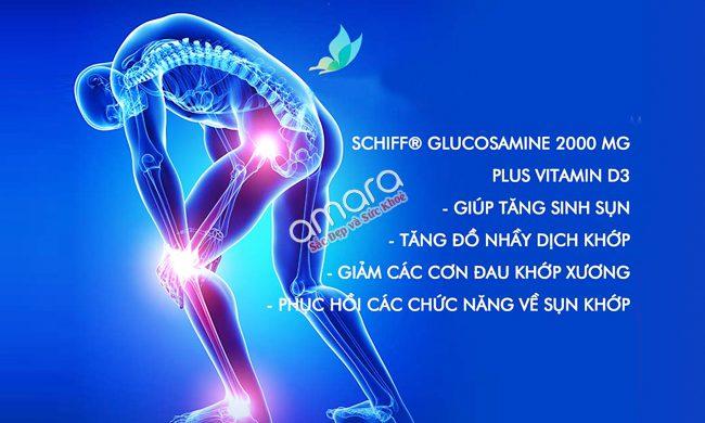 Schiff Glucosamine plus vitamin D3
