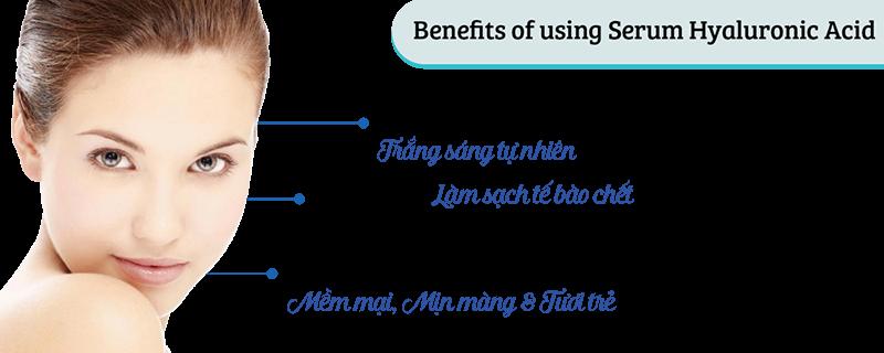 lợi ích Serum Hyaluronic Acid