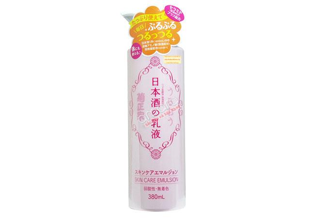 sữa dưỡng thể rượu sake nhật bản