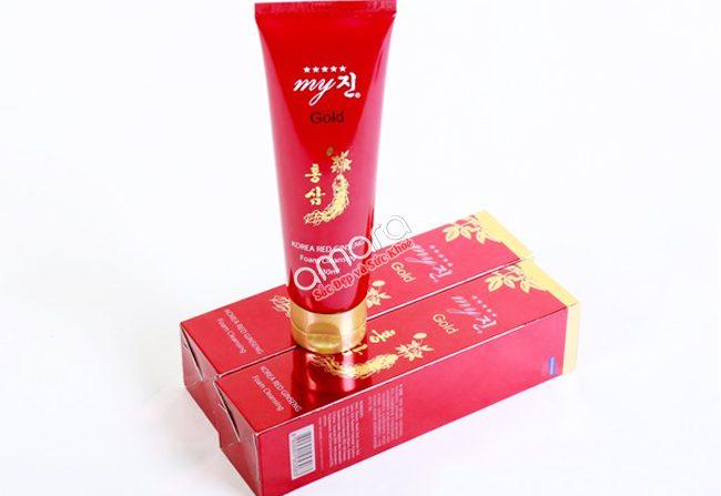 Sữa rửa mặt hồng sâm Hàn Quốc My Gold