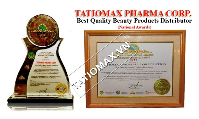 Tatiomax đạt giải thường chất lượng