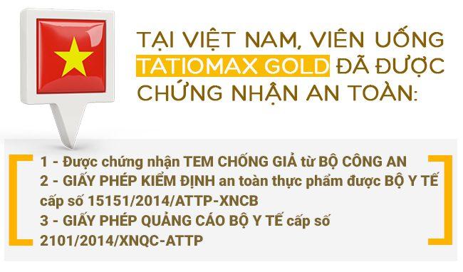 tatiomax an toàn cho da