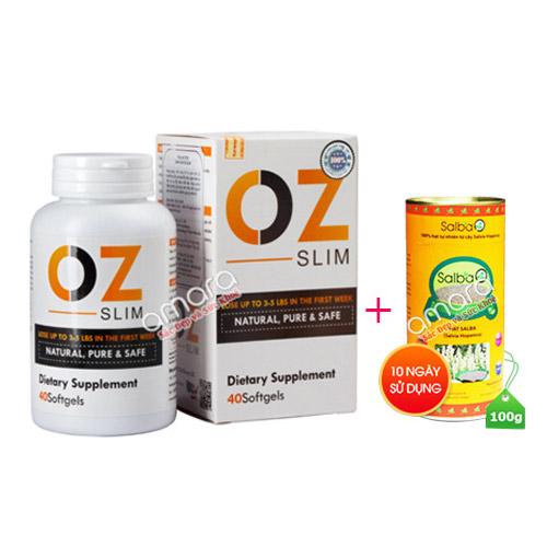 Viên giảm cân Oz Slim New giúp kiểm soát cơn đói, ngăn tích tụ mỡ