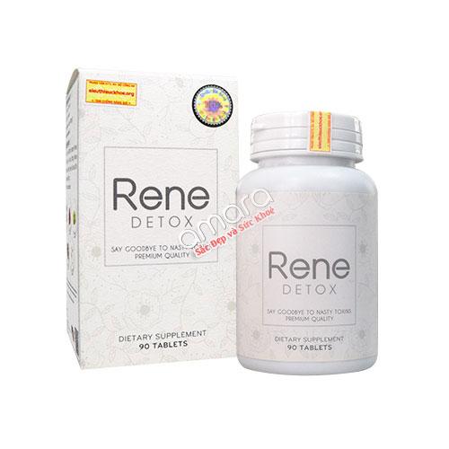 Viên uống đào thải độc, thúc đẩy trao đổi chất Rene Detox 90 viên