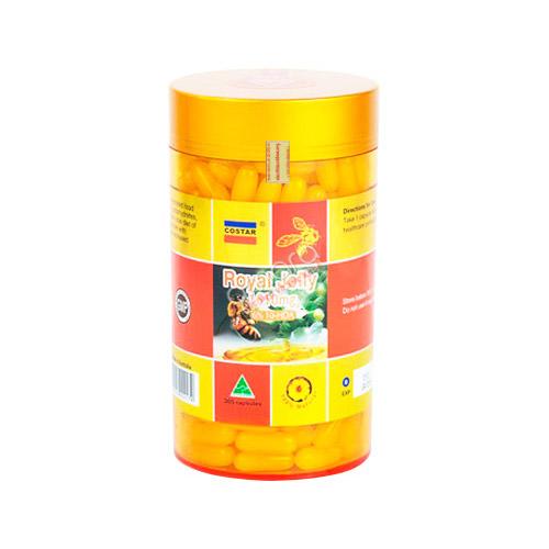 Viên uống sữa ong chúa Úc Costar Royal Jelly 1610mg 365 viên