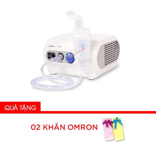 Máy xông mũi họng nén khí Omron NE-C28 (dòng cao cấp người lớn + trẻ em)