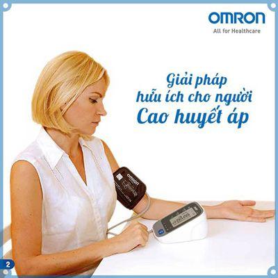 máy đo huyết áp omron nhật