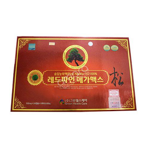 Tinh Dầu Thông Đỏ Samsung Hàn Quốc 120 viên (5 hộp x 24 viên)