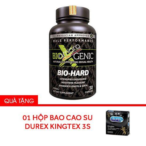 Bio Hard – Kích thích ham muốn, tăng sinh lực mạnh mẽ cho nam giới