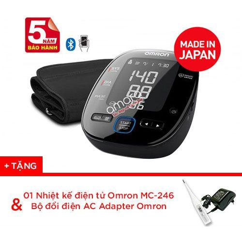 Máy đo huyết áp bắp tay tự động Omron 7280 thế hệ mới kết nối di động