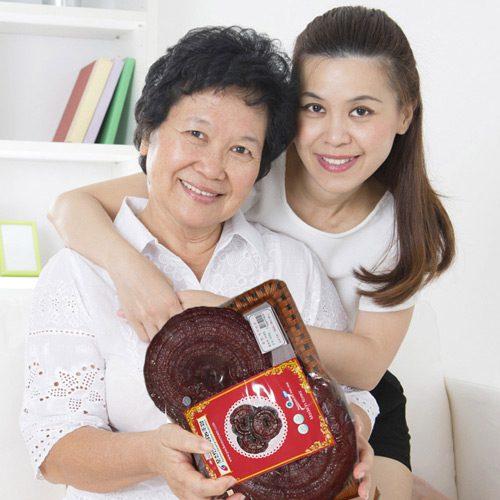 Nấm linh chi Hàn Quốc quà tặng sức khoẻ đầy ý nghĩa