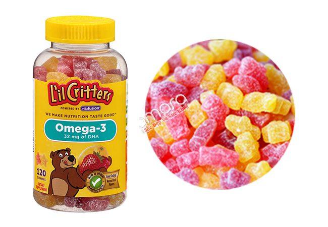 kẹo dẻo gummy giàu omega 3
