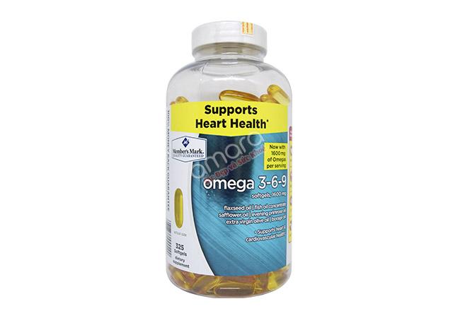 Dầu cá Omega 3-6-9 của Mỹ