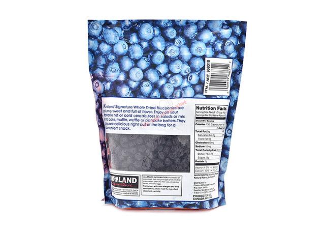việt quất đen sấy khô Kirkland USA