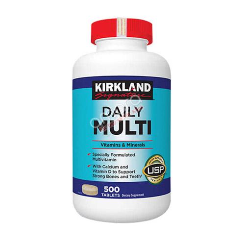 Daily Multi Kirkland – Bổ sung vitamin và khoáng chất cho nam nữ dưới 50 tuổi
