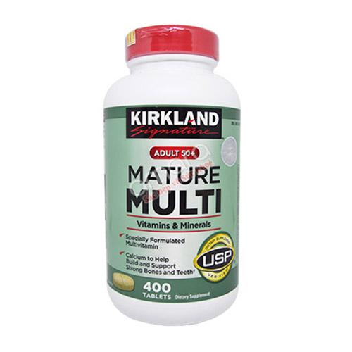Mature Multi Kirkland – Bổ sung vitamin và khoáng chất cho nam nữ trên 50 tuổi