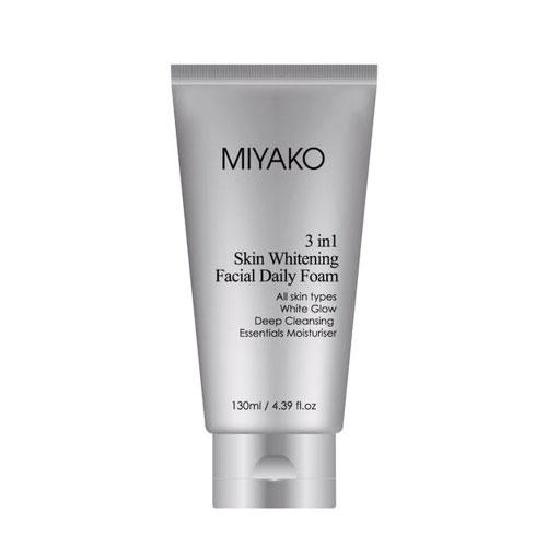 Sữa Rửa Mặt Miyako 3 in 1 Skin Whitening 130ml