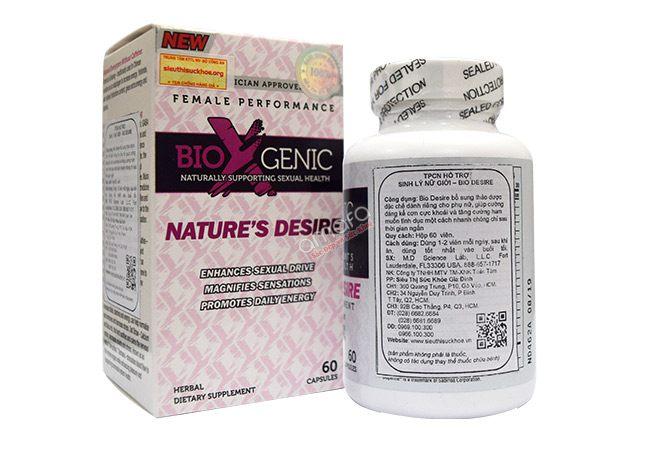 bio nature derise viên tăng cường sinh lý cho nữ