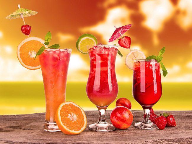 nước trái cây trị mụn và thải độc cơ thể tốt