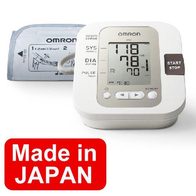 Hình ảnh máy đo huyết áp omron bắp tay jp01